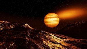 Orologio pianeti in orbita